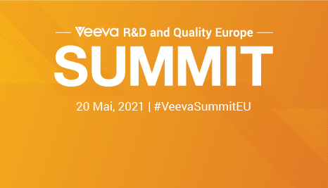 2021 Veeva R&D and Quality Summit, Europe