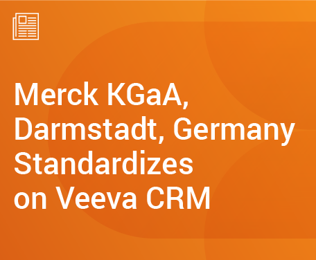 Merck KGaA Standardizes on Veeva CRM