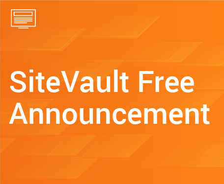 SiteVault Free Announcement
