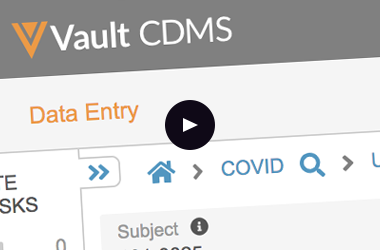 COVID-19 Study Template in Vault EDC